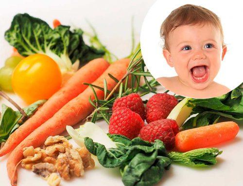 La dieta saludable de la madre antes y durante el embarazo es esencial para la salud del bebé