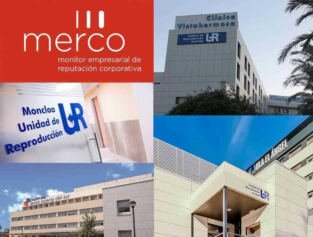 Unidades de Reproducción Asistida del Grupo UR forman parte de los mejores hospitales privados de España
